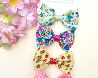 Hair bow set - Summer Collection