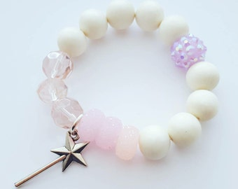 Mini's// Fairy Wand Bracelet