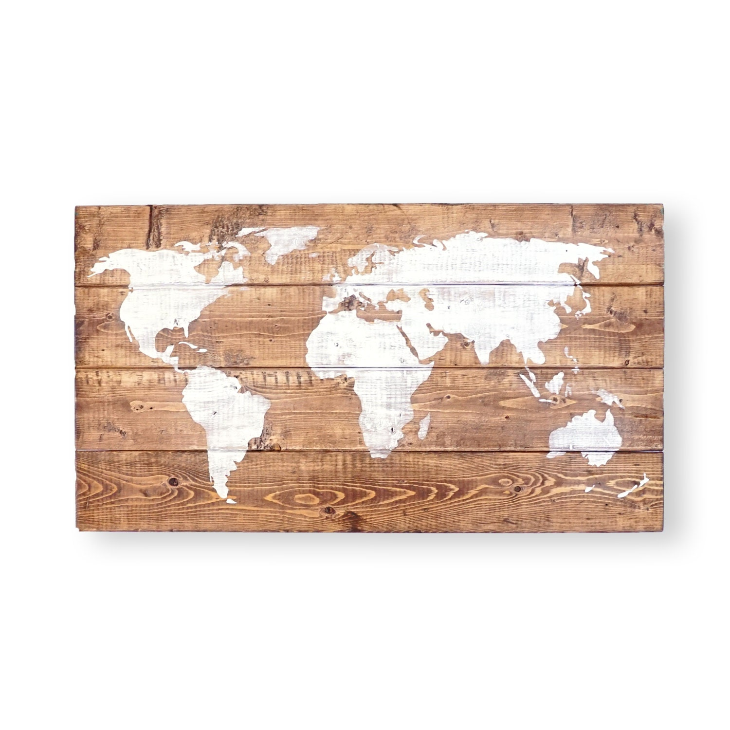 World Map Push Pin Travel Theme Decor Nursery World Map Rustic Nursery  Wall