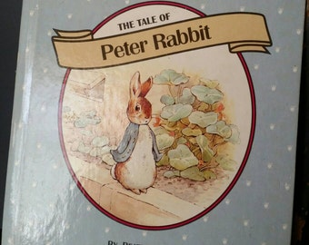 The Tale of Peter Rabbit by Beatrix Potter Little Landoll Book/Classic Children's Book/Collectible Book/Vintage 1993 Book/ Nursery Decor/
