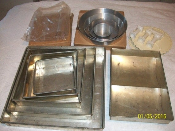 wedding cake pan sets