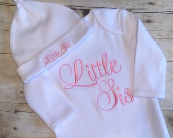 Little Sister Baby Gown Set