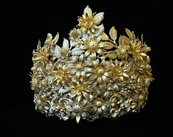 "Wedding Crown ""Princess - The Swan"""