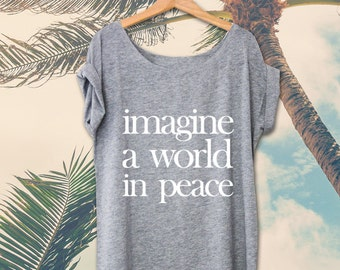 Shirt IMAGINE PEACE