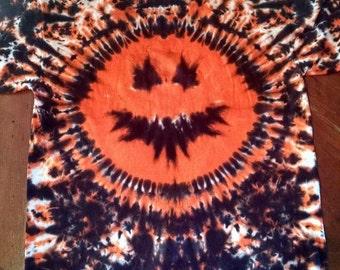 Pumpkin Tie Dye