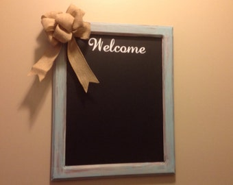 Personalized Chalkboard Wall Hanging