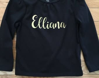 Personalized Toddler Shirt, custom toddler shirt