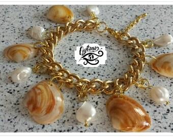 Sea Treasure Charm Bracelet
