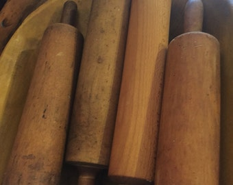 One piece rolling pins