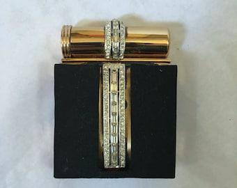 Vintage jewelled compact