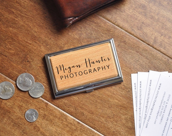 Business Card Case Personalized Business Card Holder