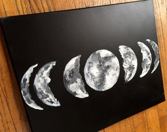 """16""""x20"""" Moon Phases"""