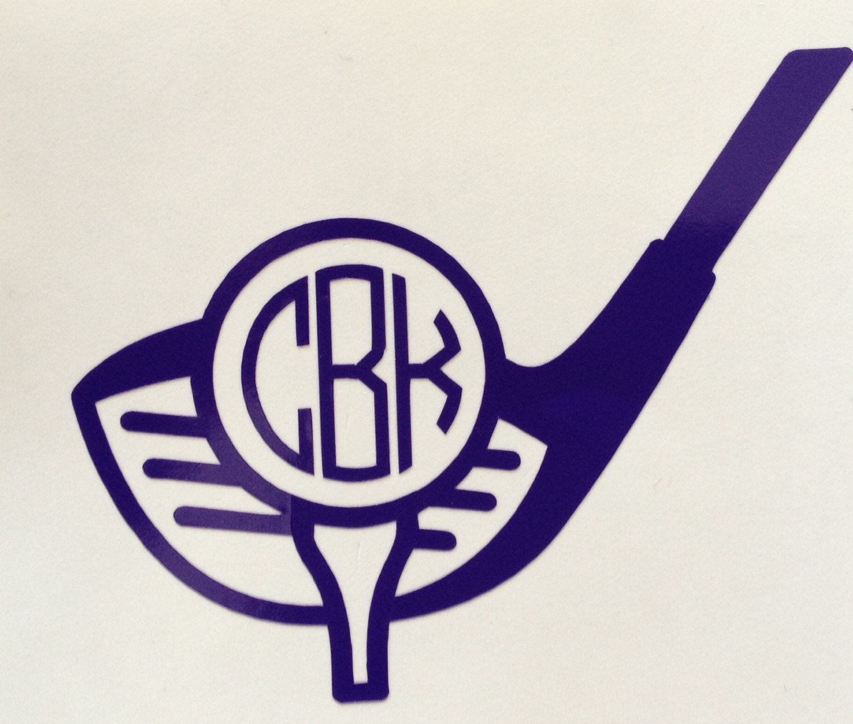 Download Golf Decal Yeti Golf Decal Golf Monogram Golf Decal