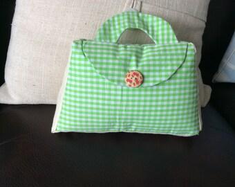 Handbag style doorstop