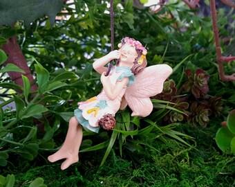 Miniature Fairy Kelsey on a Swing