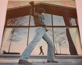VG+ Billy Joel - Glass Houses LP Vinyl Record Album Vintage