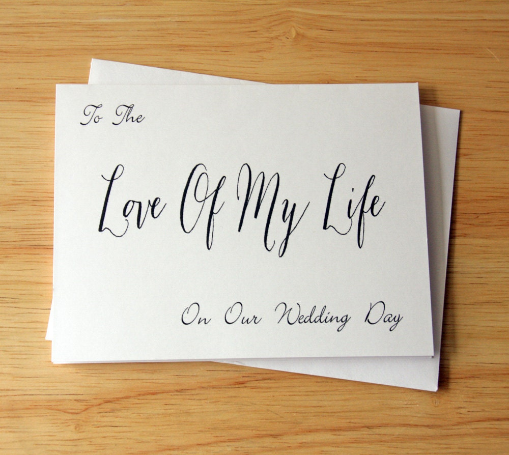 Romantic Wedding Gift Ideas: Wedding Card Romantic Card Love Card Gift For Groom Gift