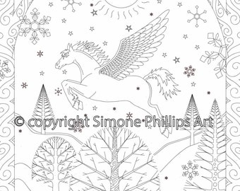 Winter Pegasus