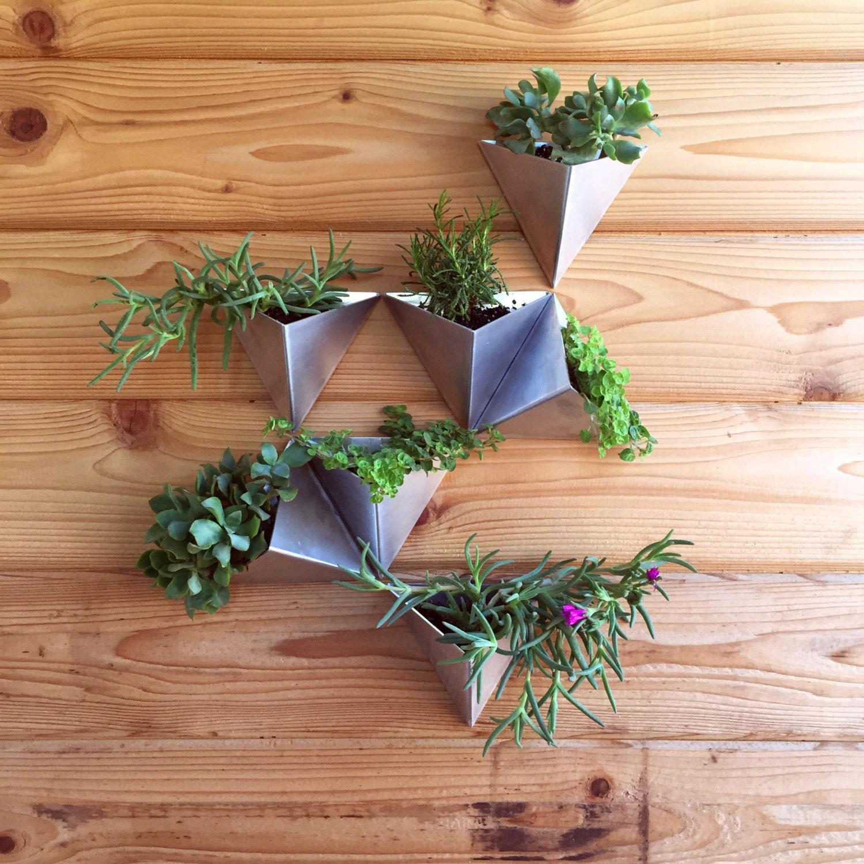 Modern Wall Planters: Tessellations // Set Of 7 // Modern Wall Planter By MethodMfg