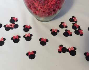 Minnie Mouse Birthday Party Confetti