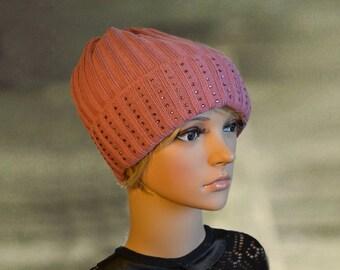 Womens winter hats, Winter knit hats, Wool slouchy beanie, Warm winter caps, Wool warm hats, Winter hat for women, Wool Knitted hats