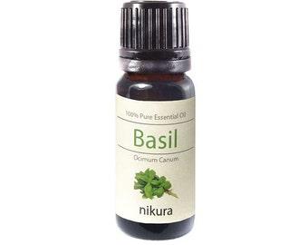100% Pure Basil Essential Oil 10ml, 50ml, 100ml