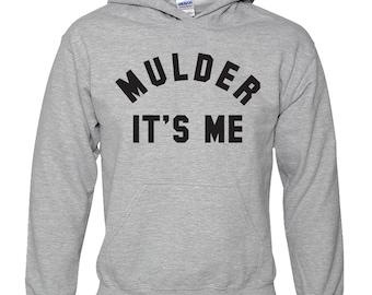 Mulder It's Me Hoodie Sweatshirt - Scully It's Me Hoodie Sweatshirts