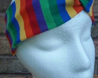Love is love - womens headband - rainbow headband - equality - boho headband - twist headband - workout headband - fitness  - adult headband