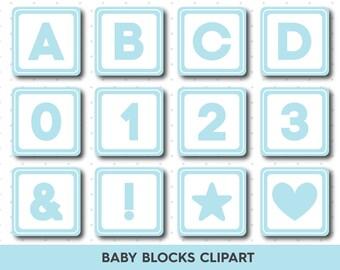 Blocks clipart | Etsy