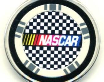 Nascar poker chip card guard - Racing card protector