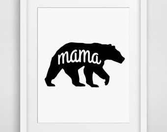 Valentine gift wife, Valentines gift, Valentine's Day Gift, Mama Bear, Mothers Day, Gift for Mom, Mom, Mama Gift, Mom Birthday, Proud Mom