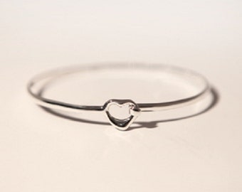 925 Sterling Silver Childs Bangle/Georg Jensen Style/Ethical Solid Silver Jewelry Jewellery/Bridemaids Gifts/Mini/Wedding Show/Free Shipping