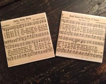 Hymn Coasters (set of 4)