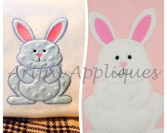 Fuzzy Bunny Applique Design
