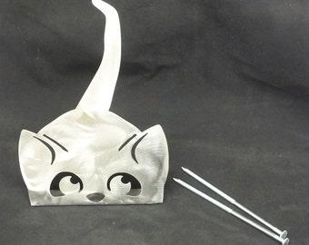 Cat Metal Garden Art Yard  Metal Sculpture  Cat Lovers Unique Gift Hand Made