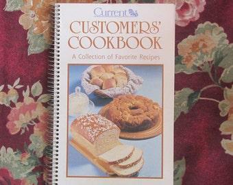 Current Customers' Cookbook, Vintage Recipes, Vintage Kitchen