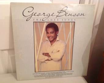 Vintage LP George Benson-The Love Songs