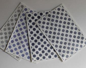 "Kraft paper bags ""confettata"" fantasia/Paper bags Polka dots patterned/jordan package/candy bags"
