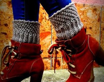 Crochet Boot Cuffs Pattern - Boot Cuffs Crochet Pattern, Leg Warmers, Instant Download