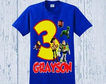 Toy Story Birthday Shirt - Toy Story Shirt - Other Styles Available
