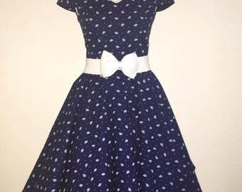 Romantic rockabilly dress