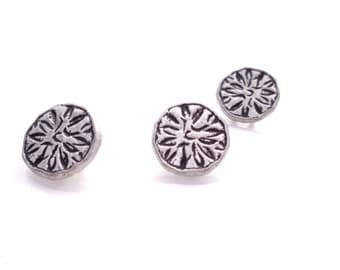 "3 - Aster Metal Buttons with Shank 5/8"" (16mm)"
