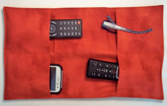 Remote Control Arm Chair Caddy Cell Phone Gadget By