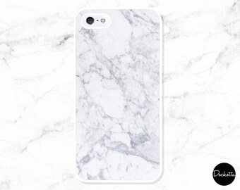 White Marble Texture iPhone & Samsung Case