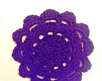 Set of 4 Flower Coasters