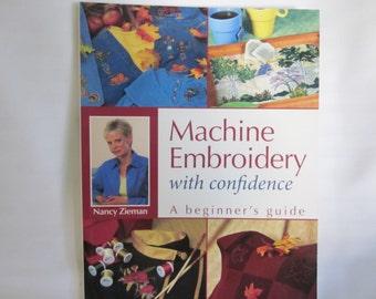 Machine Embroidery by Nancy Zieman