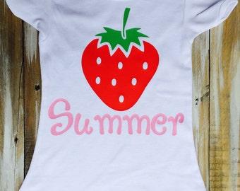 Strawberry Personalized Tshirt