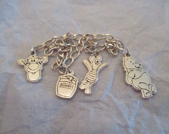 Vintage Winnie the Pooh Charm Bracelet by Van Dell for Disney