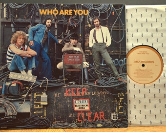 Rock LP - the Who - Who Are You, MCA 3050