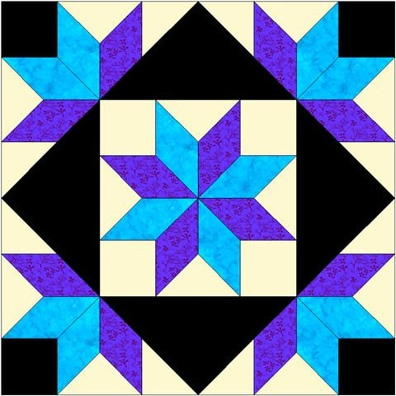 It is an image of Unusual Printable Barn Quilt Patterns